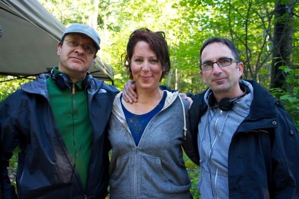 Derek Diorio, Danielle Bourgon (Dr. Helvi) and Smith Corindia