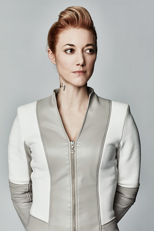 Zoie Palmer as The Android