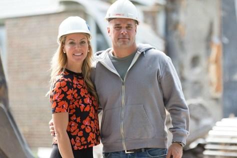 Sarah and Bryan Baeumler