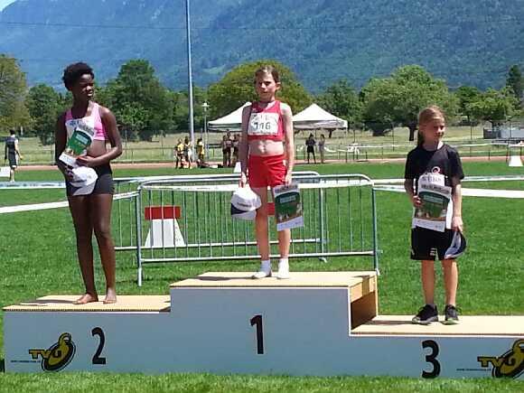 Bronze für Amélie Uloth und fünf weitere Top 10-Plätze am Kids Cup in Interlaken