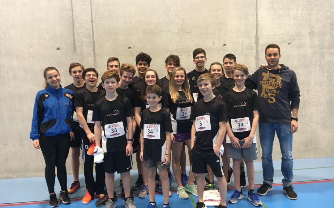 Regionalfinal UBS Kids Cup in Lyss, 11.03.2018