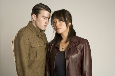 Anthony Lewis and Naoko Mori