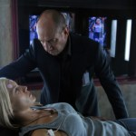 "BIONIC WOMAN - ""Faceoff"" Katee Sackhoff as Sarah Corvus, Miguel Ferrer as Jonas Bledsoe"