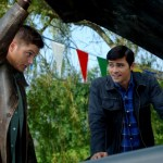 Supernatural - Jensen Ackles as Dean and Matt Cohen as John Winchester
