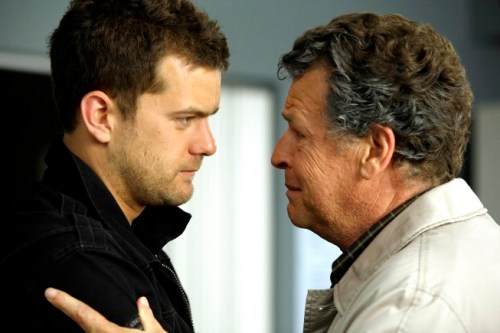 FRINGE: Peter (Joshua Jackson, L) and Walter (John Noble, R)