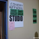 Covert Affairs - Set sign