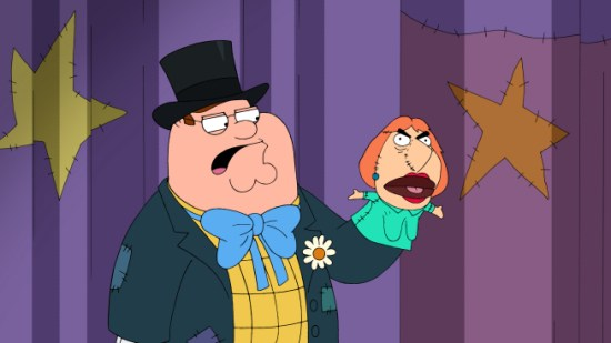 Family Guy You Can't Do That On Television, Peter
