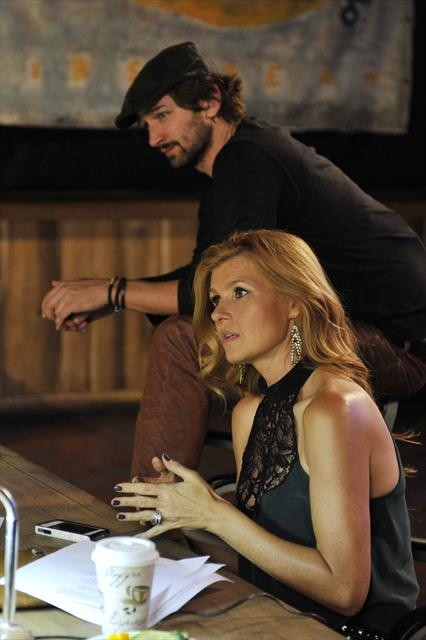 MICHIEL HUISMAN, CONNIE BRITTON
