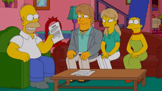 The Simpsons Season 24 Episode 11 Changing of the Guardian (3)