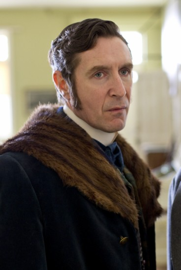Picture shows: Stanley J. Bone (PAUL MCGANN) and Dr Karl Crabbe (ANTON LESSER)