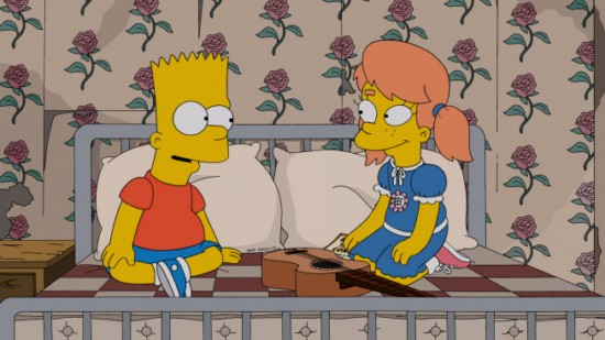 The Simpsons Season 24 Episode 12 Love is a Many Splintered Thing (2)