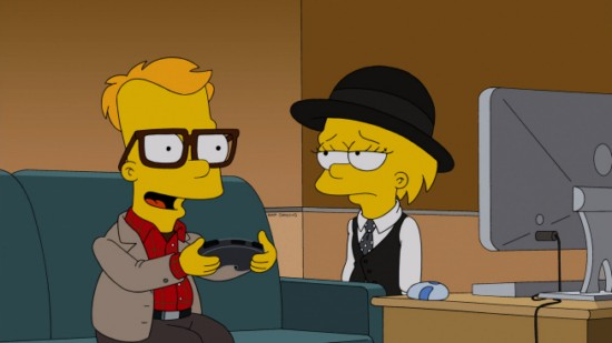 The Simpsons Season 24 Episode 12 Love is a Many Splintered Thing (4)