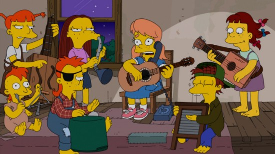 The Simpsons Season 24 Episode 12 Love is a Many Splintered Thing (6)