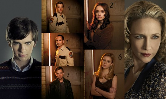 Bates Motel cast
