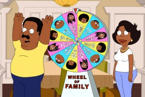 The Cleveland Show Season 4 Finale 2013 Crazy Train; Wheel! Of! Family!-13