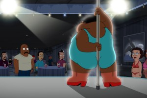 The Cleveland Show Season 4 Finale 2013 Crazy Train; Wheel! Of! Family!-17