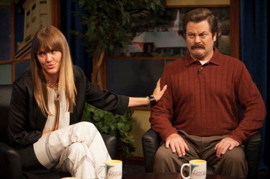 Parks and Recreation season 6 episode 6 & 7 Filibuster/Recall Vote (10)