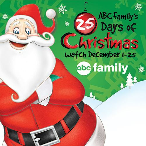 abc family 25 days of christmas logo 2013