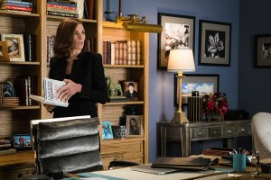 """KSR"" -- Alicia and Lucca defend a well-respected surgeon accused of plotting to commit a crime. Also, Ruth schemes to remove Jason from Alicia's life by trying to persuade Courtney Paige (Vanessa Williams) to hire him for business in another state, on THE GOOD WIFE, Sunday, Dec. 13 (9:30-10:30 PM, ET/9:00-10:00 PM, PT) on the CBS Television Network. Pictured  Julianna Margulies as Alicia Florrick Photo: David M. Russell//CBS © 2015 CBS Broadcasting Inc. All Rights Reserved."