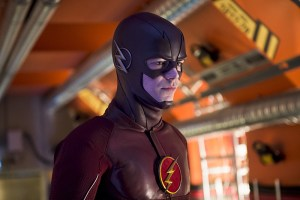 "The Flash -- ""Flash Back"" -- Image: FLA217b_0380b.jpg -- Pictured: Grant Gustin as The Flash -- Photo: Diyah Pera/The CW -- © 2016 The CW Network, LLC. All rights reserved."