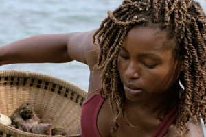 """Now's the Time to Start Scheming"" -- Cydney Gillon during the twelfth episode of SURVIVOR: KAOH RONG -- Brains vs. Brawn vs. Beauty. The show airs, Wednesday, May 4 (8:00-9:00 PM, ET/PT) on the CBS Television Network. Photo: Screen Grab/CBS Entertainment ©2016 CBS Broadcasting, Inc. All Rights. Reserved."
