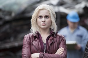 """iZombie -- """"Blaine's World"""" -- Image Number: ZMB113B_0146 -- Pictured (L-R): Rose McIver as Olivia """"Liv"""" Moore -- Photo: Diyah Pera/The CW -- © 2015 The CW Network, LLC. All rights reserved."""