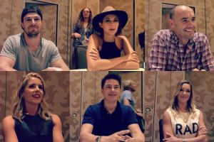 arrow cast comic-con 2015