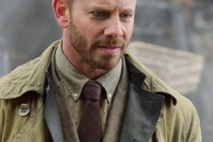 """DEFIANCE -- """"The Beauty of Our Weapons"""" Episode 307 -- Pictured: Ian Ziering as Conrad Von Bach -- (Photo by: Ben Mark Holzberg/Syfy)"""