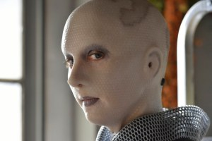 """DEFIANCE -- """"Ostinato in White"""" Episode 309 -- Pictured: Trenna Keating as Doc Yewll -- (Photo by: Ben Mark Holzberg/Syfy)"""