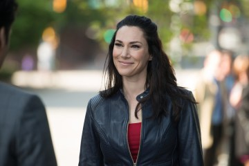 """CONTINUUM -- """"Power Hour"""" Episode 403 -- Pictured: Kyra Zagorsky as Vasquez -- (Photo by: Diyah Pera/Reunion Pictures/Syfy)"""