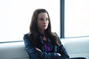 """CONTINUUM -- """"The Desperate Hours"""" Episode 405 -- Pictured: Rachel Nichols as Kiera Cameron -- (Photo by: Diyah Pera/Reunion Pictures/Syfy)"""