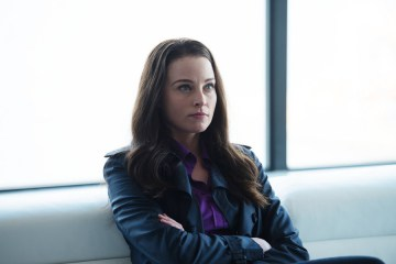 "CONTINUUM -- ""The Desperate Hours"" Episode 405 -- Pictured: Rachel Nichols as Kiera Cameron -- (Photo by: Diyah Pera/Reunion Pictures/Syfy)"