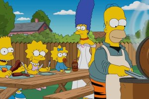 "THE SIMPSONS: Homer buys a smoker in the all-new ""Cue Detective"" episode of THE SIMPSONS airing Sunday, Oct. 4 (8:00-8:30 PM ET/PT) on FOX. THE SIMPSONS ™ and © 2015 TCFFC ALL RIGHTS RESERVED.