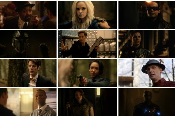 Barry, Zoom, Cisco, Wells, Jesse, Joe, Ronnie, Caitlin, Jay, Henry, Iris - The Flash