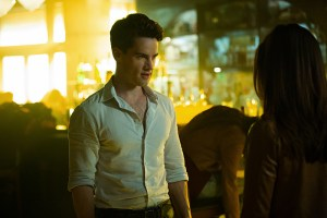 """The Originals -- """"No More Heartbreaks"""" -- Image Number: OG318a_0202.jpg -- Pictured (L-R): Andrew Lees as Lucien and Danielle Campbell as Davina -- Photo: Bob Mahoney/The CW -- © 2016 The CW Network, LLC. All rights reserved."""