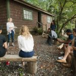"DEAD OF SUMMER - ""The Devil Inside"" - With the horrors of last night behind them the counselors of Camp Stillwater finally feel at ease. Maybe too at ease in ""The Devil Inside,"" an all new episode of ""Dead of Summer,"" airing TUESDAY, AUGUST 16 (9:00 - 10:00 p.m. EDT) on Freeform (the new name for ABC Family). (Freeform/Katie Yu) ELIZABETH MITCHELL, PAULINA SINGER, ZELDA WILLIAMS, ELI GOREE, RONEN RUBINSTEIN"