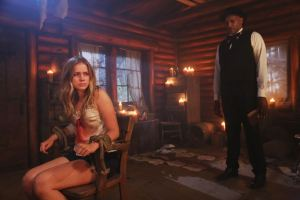 "DEAD OF SUMMER - ""Home Sweet Home"" - The counselors confront the evil that lurks in the lake of Camp Stillwater in ""Home Sweet Home,"" an all-new episode of ""Dead of Summer,"" airing TUESDAY, AUGUST 23 (9:00 - 10:00 p.m. EDT), on Freeform, the new name for ABC Family. (Freeform/Jack Rowand) ELIZABETH LAIL, TONY TODD"