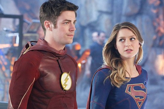 Barry and Kara - The Flash