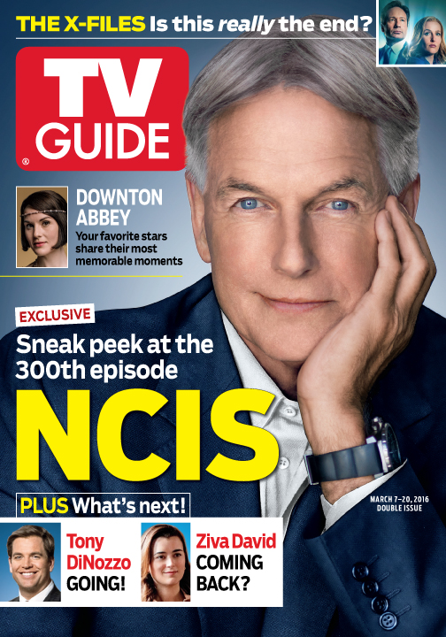 NCIS  300 Episodes and Counting   The official site of TV Guide Magazine Cover photo of Mark Harmon by Kevin Lynch for TV Guide Magazine