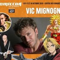 Dragon Ball Z - Fullmetal Alchemist: Vic Mignogna confirmé au Comiccon de Québec