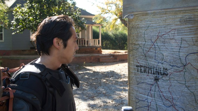 Glenn (Steven Yeun) - The Walking Dead _ Season 4, Episode 13 - Photo Credit: Gene Page/AMC