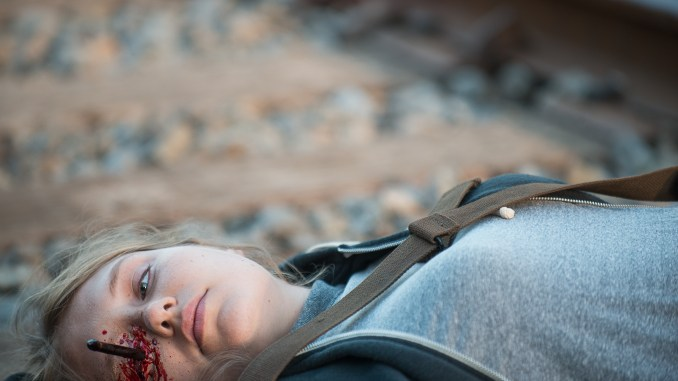 Merritt Wever as Dr. Denise Cloyd - The Walking Dead _ Season 6, Episode 14 - Photo Credit: Gene Page/AMC