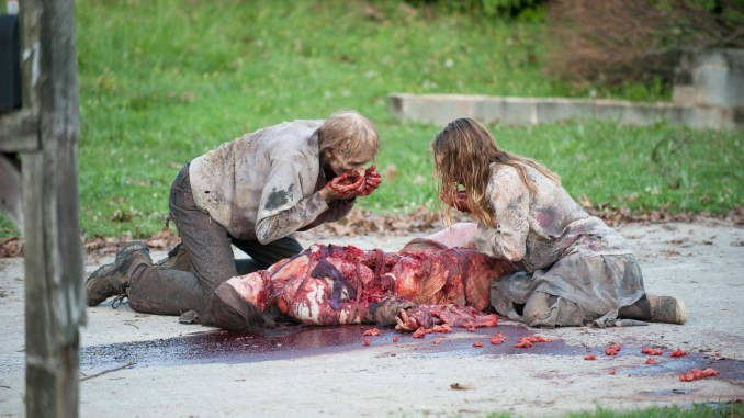 Walkers - The Walking Dead _ Season 4, Episode 4 - Photo Credit: Gene Page/AMC