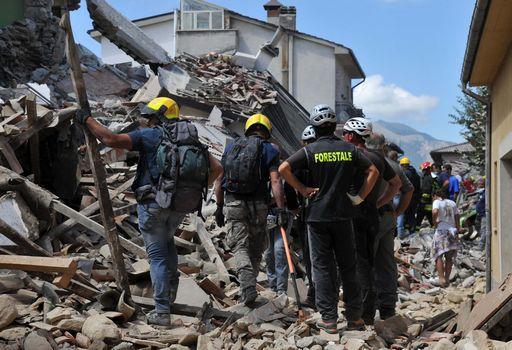 Terremoto, Amatrice: si lavora alla ricostruzione dei ponti crollati per ripristinare l'accesso al paese