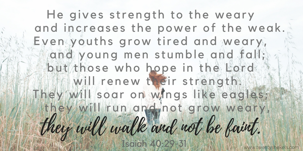 Isaiah 40:29-31