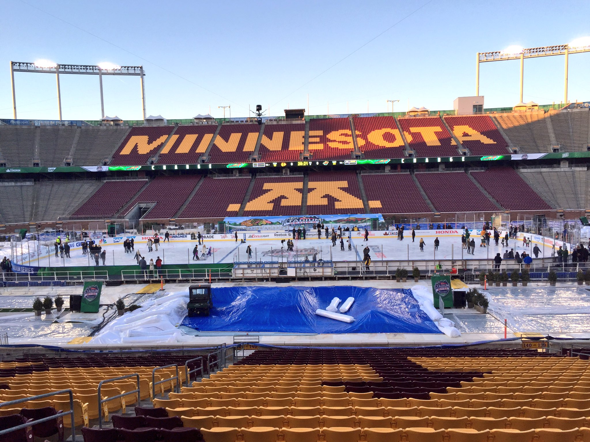 Red-hot Wild Take A Relaxed Skate At TCF Bank Stadium