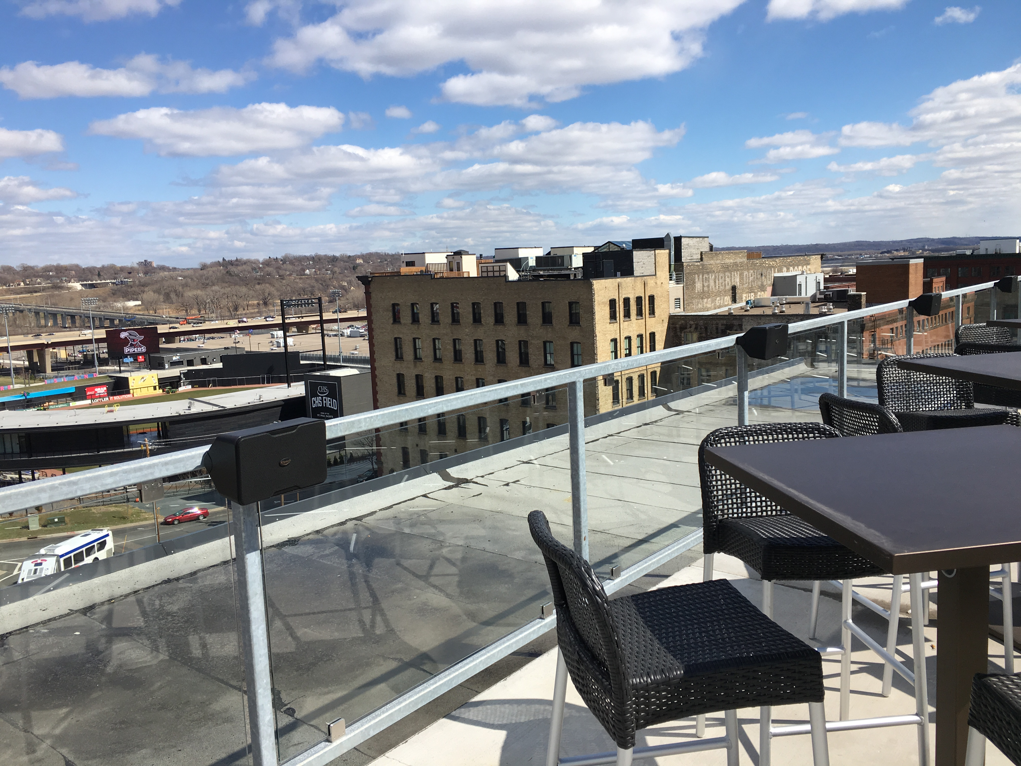 Sunshiny A Sneak Peek At Ox Cart Ale Roof Patio View House Menu Prices Viewhouse Bar Denver View From Patio At Ox Cart Ale House curbed The View House