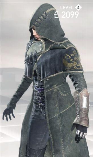 defender's garb