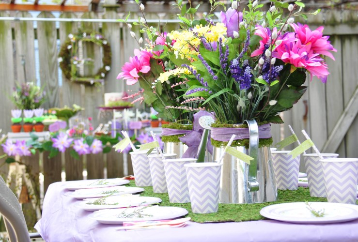 {Submission} An Enchanted Baptism Garden Party