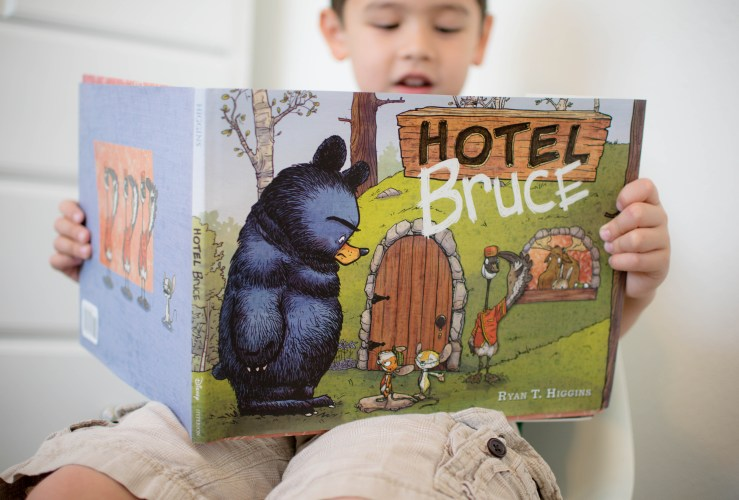 A New Disney Book: Hotel Bruce + Giveaway